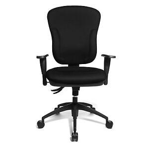 TopStar Premium XXL Size Office Chair Upholstered Wellpoint 30-8060KBC0E