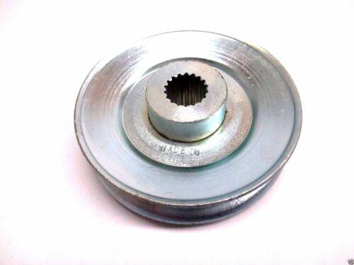 "Genuine Tuff Torq 1A646025750 Transmission Drive Pulley A 3-1//4/"" OD OEM"