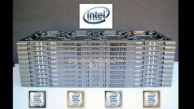 Intel Xeon LGA3647 CPU Tray for 76 x 56.5 mm Processor Lot of 2 5 12 18 30
