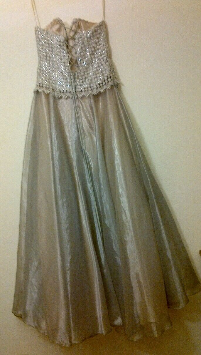 Eliza of California prom dress vintage