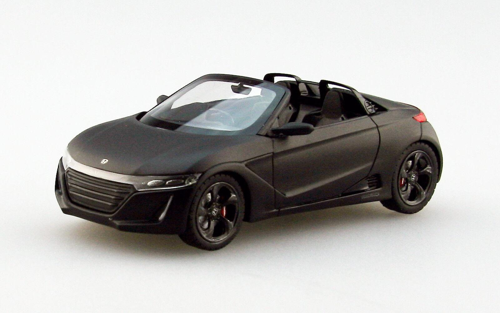 Ebbro 45232 1 43 Honda S660 Tokyo Auto Salón de resina de 2015 nero Mate