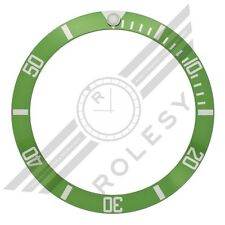 50th Anniversary Green Aluminum Bezel Insert for Rolex Submariner 16610LV 16610