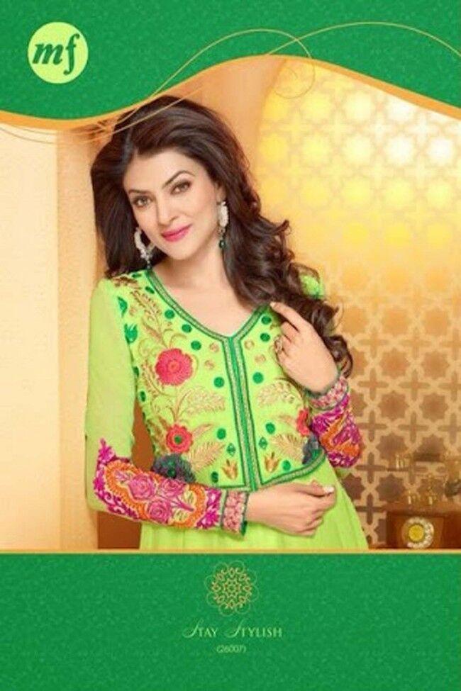 Indian Pakistani Designer Salwar Kameez Original MF 26007