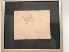 "MICKEY MOUSE Original Pencil Drawing - 1935 ""Mickey's Garden"""
