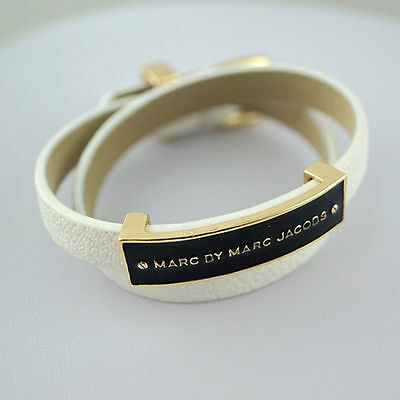 2014 New Arrival Marc Glaze Double PU leather chain Bracelet multicolor optional