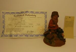 RETIRED-OLD-VINTAGE-1985-TOM-CLARK-SIGNED-GNOME-CHIP-CANDY-TREATS-STATUE-FIGURE