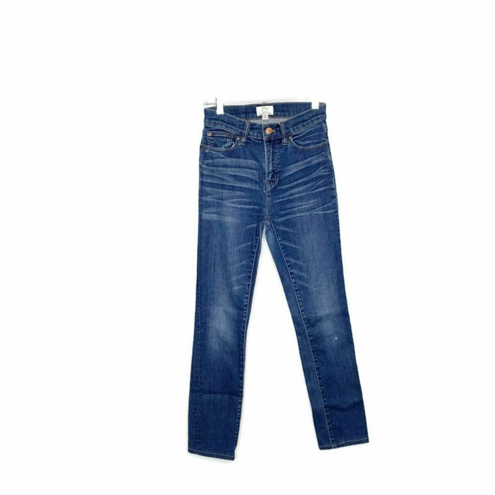 J. Crew Lookout High Rise Skinny Jean Travers Wash - image 2