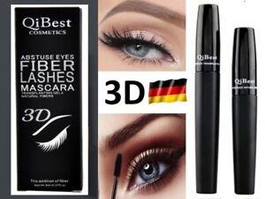 NEU-2-in1-3D-FIBER-Wimperntusche-Extension-Mascara-Lash-Schwarz-FASER-Volume