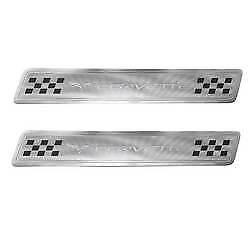 Genuine GM Door Sill Plates Front 17802221