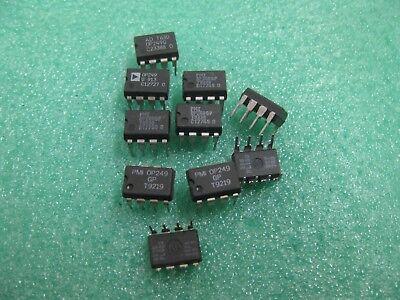 1X  OP249EJ TO DIP8 Dual Precision JFET High Speed Operational Amplifier  OP249
