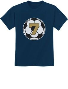 Image Is Loading 7 Year Old Seventh Birthday Gift Soccer Youth