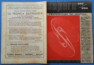 CompéTent Sapere Quindicinale 1947 N.297-298 Maggio Foto Sommario 12/17