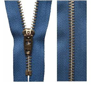 20cm23cm41cm56cm Damson YKK Concealed Zip Invisible Zip Closed End