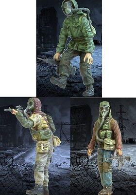 1//35 Resin Zombie War Stalkers 2 Soldiers Unassembled Unpainted BL708