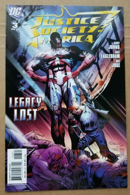 Justice Society of America #3 (Mar 2007, DC)  Cyclone 1:10 Variant Black Adam