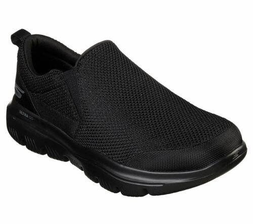 Ultra Baskets Skechers Noir Gowalk Evolution Homme impeccable Chaussures wnO86q
