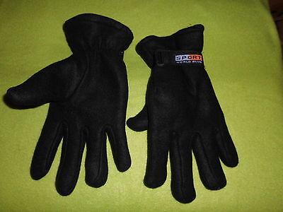 Handschuhe, Fleecehandschuhe, Fingerhandschuhe, Schwarz **neu** 2019 New Fashion Style Online
