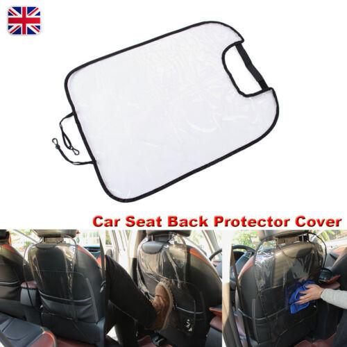 1x//2x Car Seat Back Protector Cover Children Kick Mat Mud Clean Storage Pocket