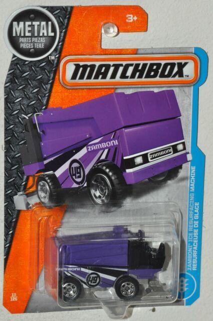 2017 Matchbox #13 MBX Adventure City Zamboni Ice Resurfacing Machine