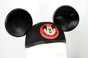 Vintage-1960-s-Walt-Disney-World-Mickey-Mouse-Ear-Hat-cap-Jacobson-USA-Youth