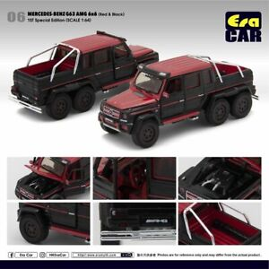 ERA-Car-1-64-2019-Release-Black-amp-Red-2013-2014-2015-MERCEDES-BENZ-G63-AMG-6X6