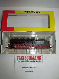 Fleischmann-94-4156-Locomotive-a-vapeur-de-la-DR-avec-BN-562567-neuf-dans-sa-boite-Piste-h0