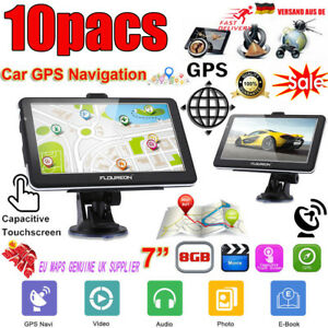 10x-8GB-7-039-039-Zoll-Touch-Screen-PKW-Auto-GPS-Navi-Navigation-Navigationsgeraet-EU