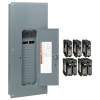 Square-d 200-amp 30-space 60-circuit Indoor Main-breaker Box Panel Load-center