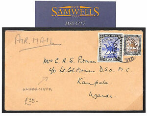 MS3217 1945 WW2 UPPER NILE Undercover Mail