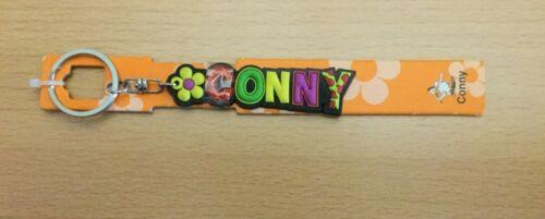 """/"""" CONNY /"""" Fun Schlüsselanhänger von Albatros mit Namen bunt ca 2 cm hoch"""