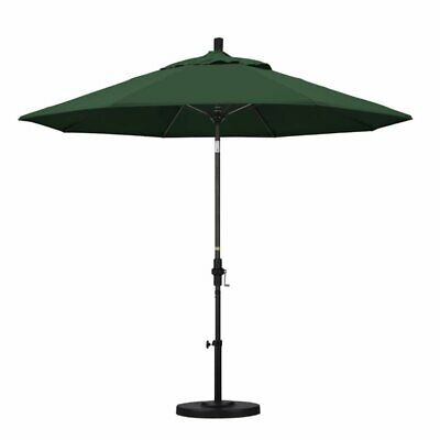 California Umbrella 9' Patio Umbrella in Hunter Green