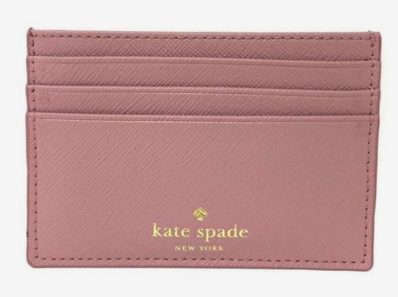 ORIGINAL Kate Spade NY, Graham Greta Court Credit Card Wallet Glitter BRAND NEW