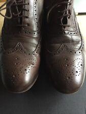 Paul Smith Men's Men's Dip Dye Brown Leather Miller Brogues RRP £265 UK 8.5