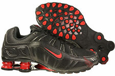 NIKE SHOX TURBO 3.2 SL Mens Shoes Size 8 455541-060 Black/Varsity Red
