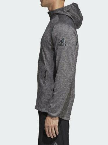 adidas Men/'s Freelift Tech Warm Charcoal Grey FZ Hoodie DM4387 Size M//L//XL//XXL