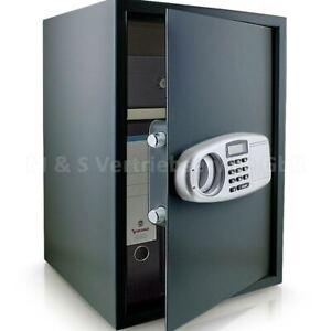 BITUXX-Safe-Tresor-Moebeltresor-Wandtresor-Aktentresor-Geldschrank-dunkelgrau