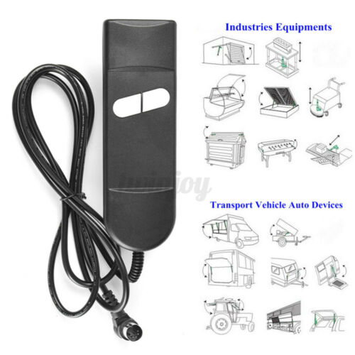 Multiple Uses Lift Chair or Power Recliner Remote Hand Control 2 Button 5 Pin