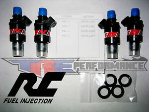 RC 1000cc Fuel Injectors Honda B D or H Series Engines B16 ...