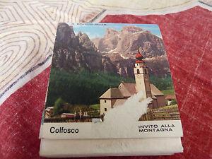 Rare-Vintage-Extra-Large-Size-Match-Book-Le-Cime-Dolomitiche-Colfosco