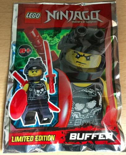 LEGO SET NINJAGO POLYBAG FIGURINE MINIFIG NINJA GUERRIER BUFFER AVEC BOUCLIER