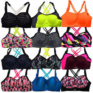 e70892661b50d Victoria s Secret Sports Bra Vsx Angel Sexy Lined Memory Fit Wicking ...