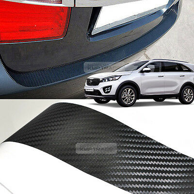 Carbon Door Decal Sticker Cover Kick Protector For KIA 2015-2019 Sorento UM