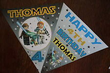 PERSONALISED LEGO STAR WARS BUNTING /BANNER / BIRTHDAY DECORATION