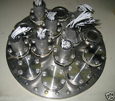 """12"""" NOR-CAL High Vacuum Research Feed Through UHV CFF Conflat Flange Varian"""