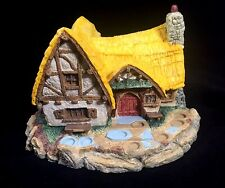 "Olszewski Goebel DISNEY Snow White Seven Dwarfs ""House In The Woods"" 944-D"