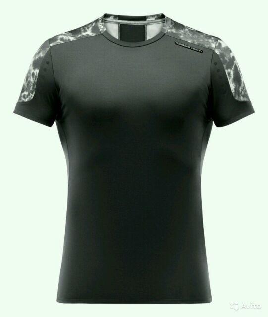 T-shirt Adidas Originals Porsche 911 Design T-Shirt mens sport Short Sleeve Tee