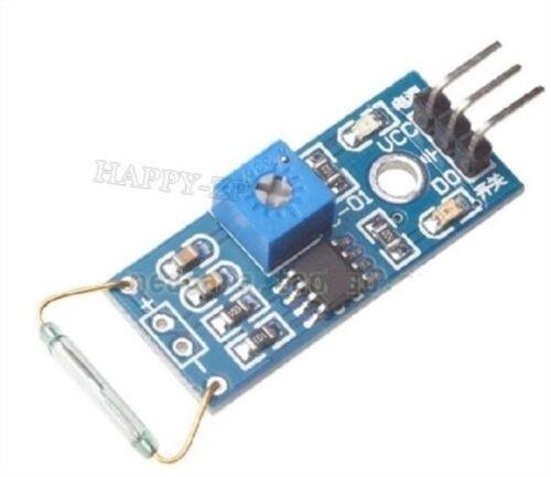 2Pcs Reed Module De Module Magnétron Module Reed Commutateur Magswitch Pour si
