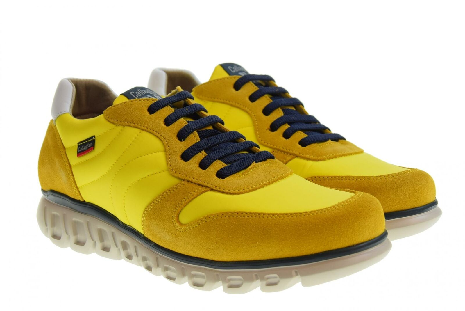 Callaghan P19us men's shoes low sneakers 12903 YELLOW
