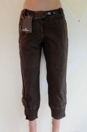 6256 Murphy/&Nye Damen Jeanshose 7//8 Damenhose Stiefelhose braun Gr.W30