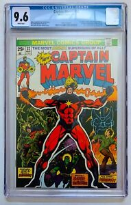CAPTAIN-MARVEL-32-CGC-9-6-WHITE-PAGES-05-74-MOVIE-HOT-KEY-THANOS-ORIGIN-DRAX
